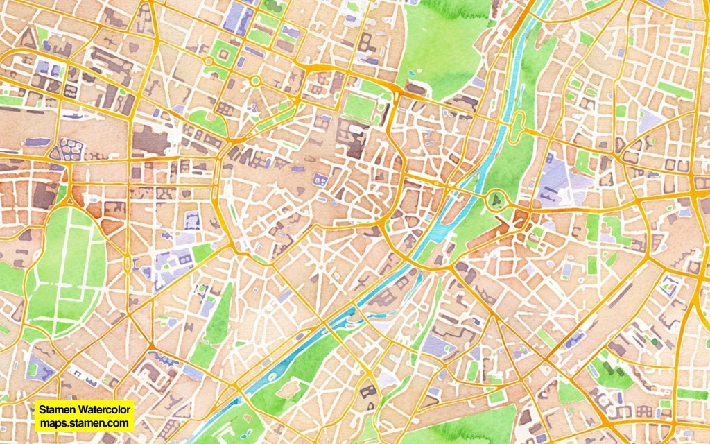Stamen Watercolor maps.stamen.com