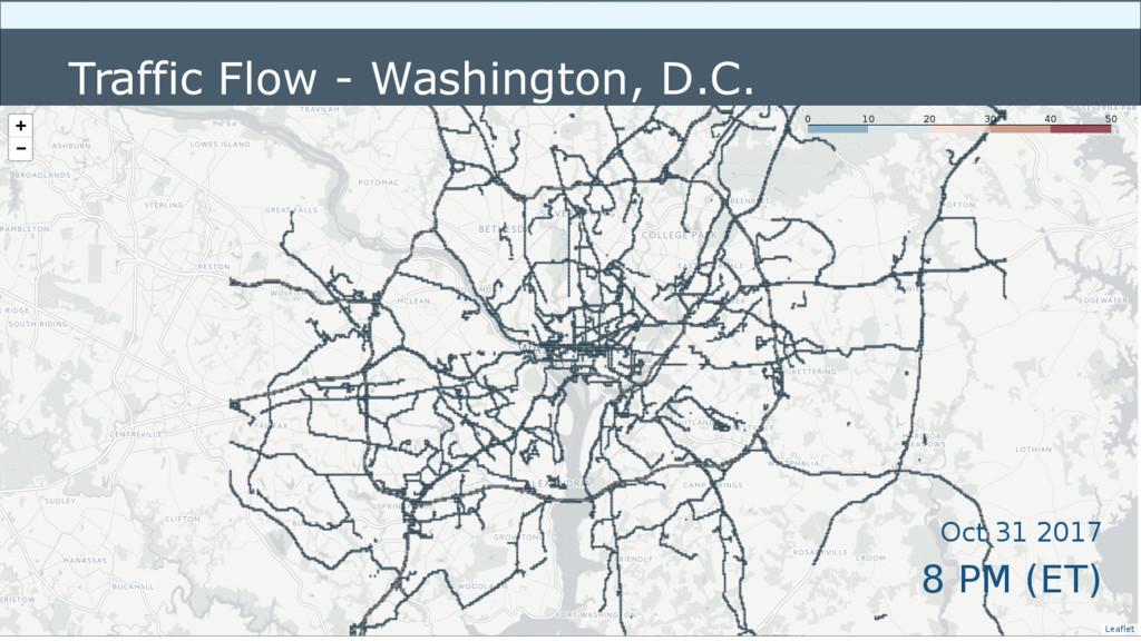 MyGeotab   Visit Geotab.com Traffic Flow - Wash...