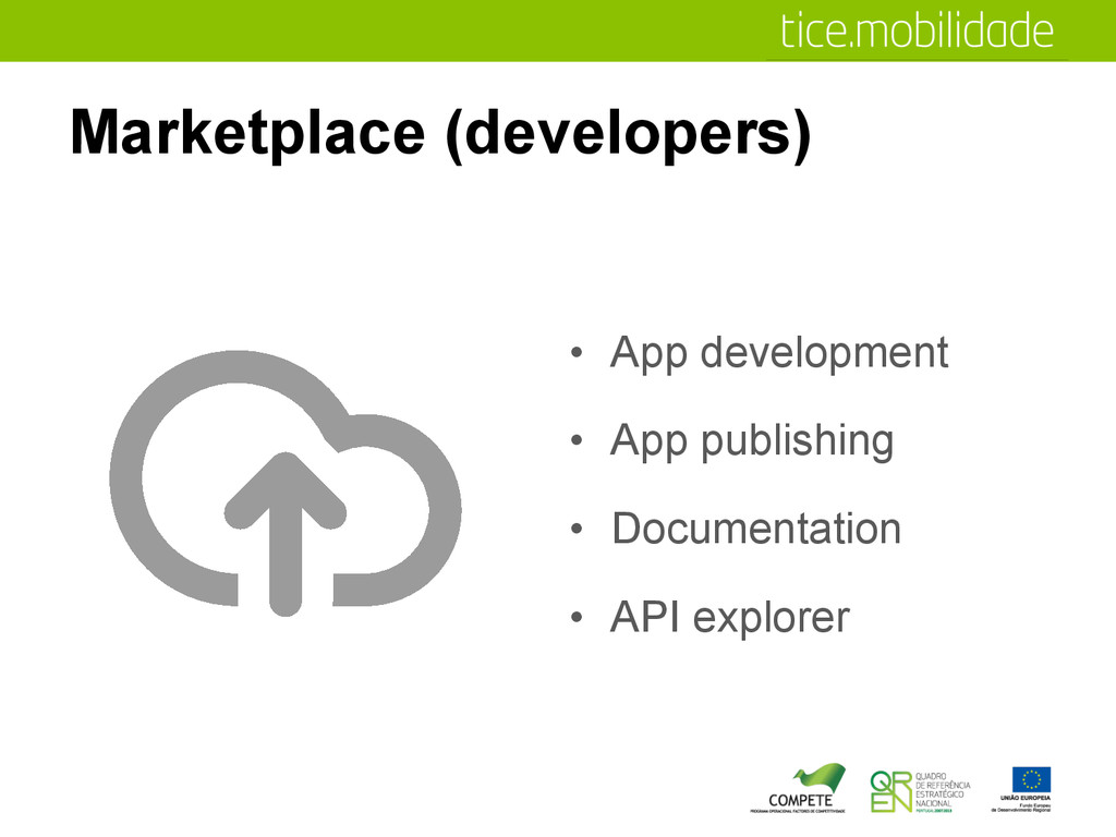Marketplace (developers) •  App development •  ...