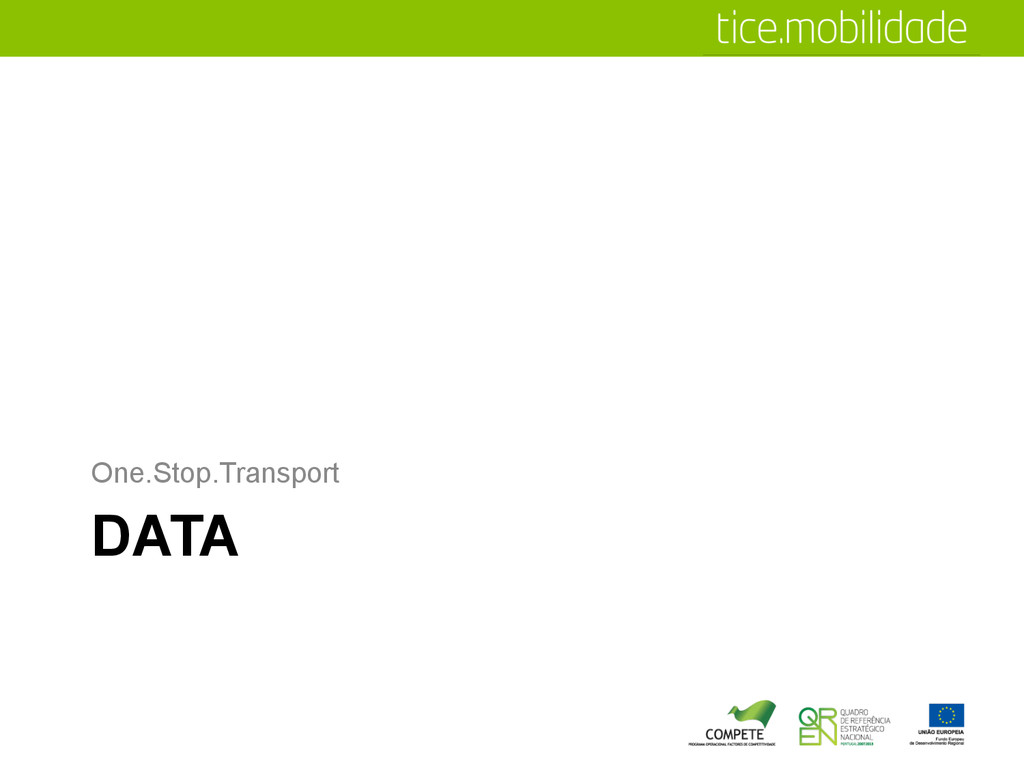 DATA One.Stop.Transport