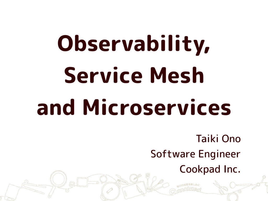 Observability, Service Mesh and Microservices T...