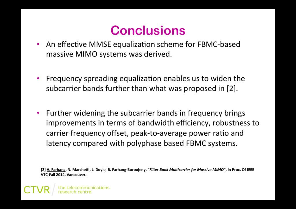 """• An""""effec2ve""""MMSE""""equaliza2on""""scheme""""for""""FBMCJ..."""