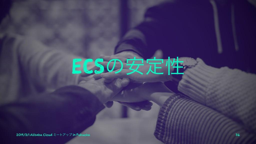 ECSͷ҆ఆੑ 2019/3/1 Alibaba Cloud ϛʔτΞοϓ in Fukuok...