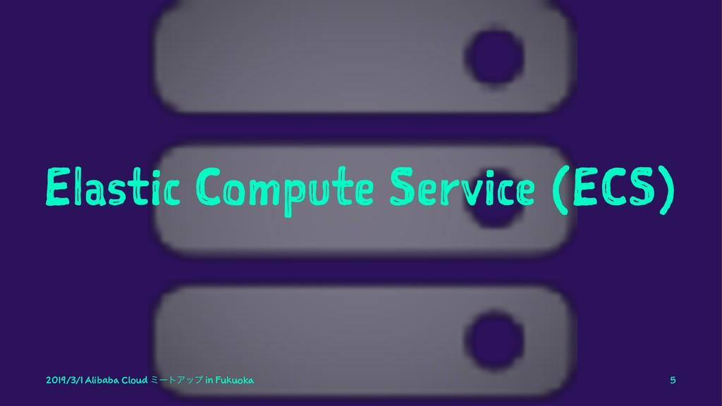 Elastic Compute Service (ECS) 2019/3/1 Alibaba ...