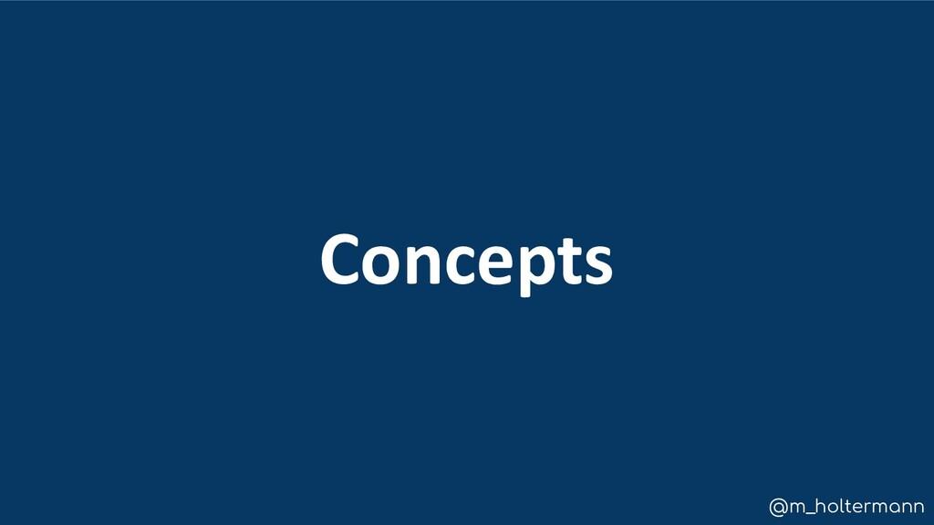 @m_holtermann Concepts