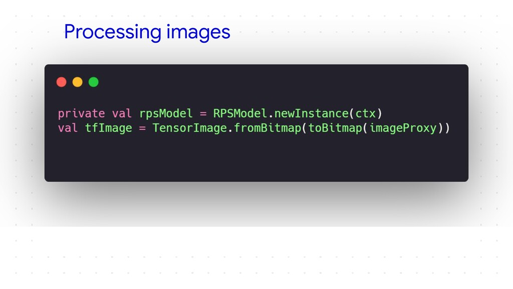 Processing images