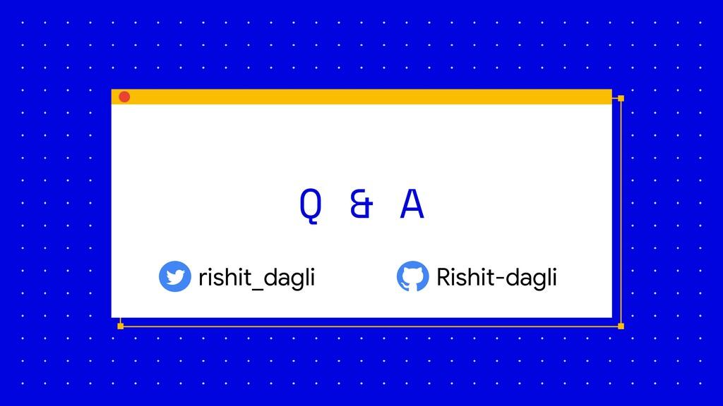 Q & A rishit_dagli Rishit-dagli