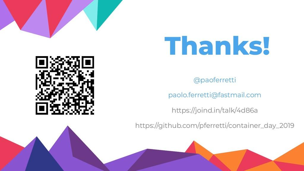 Thanks! @paoferretti paolo.ferretti@fastmail.co...