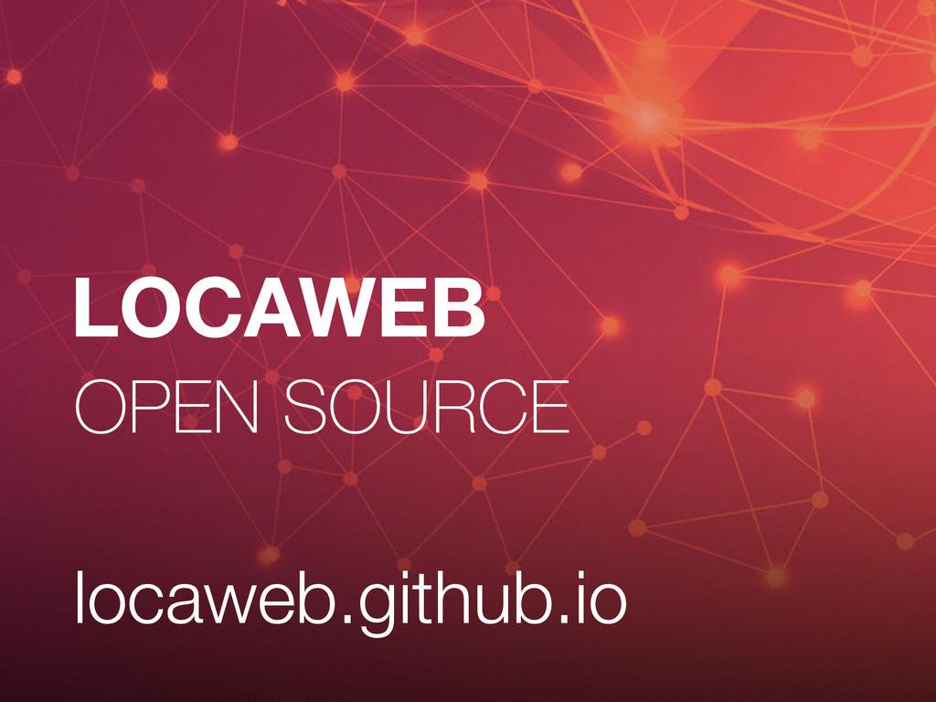 LOCAWEB OPEN SOURCE locaweb.github.io