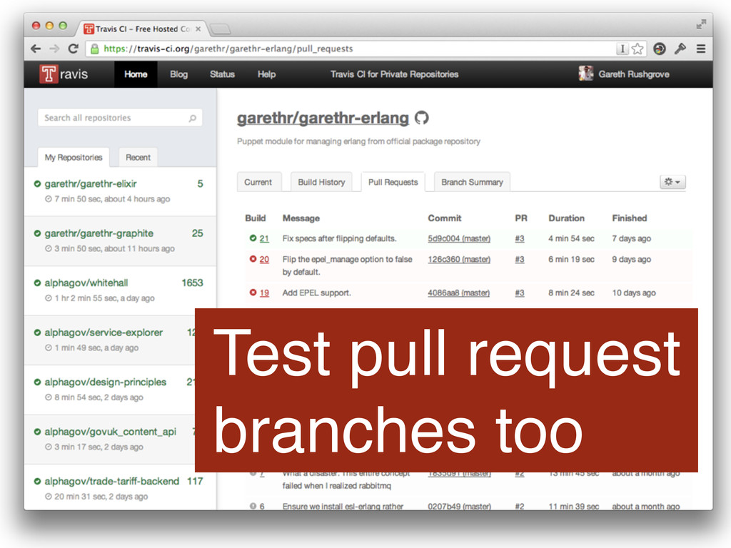 Test pull request branches too