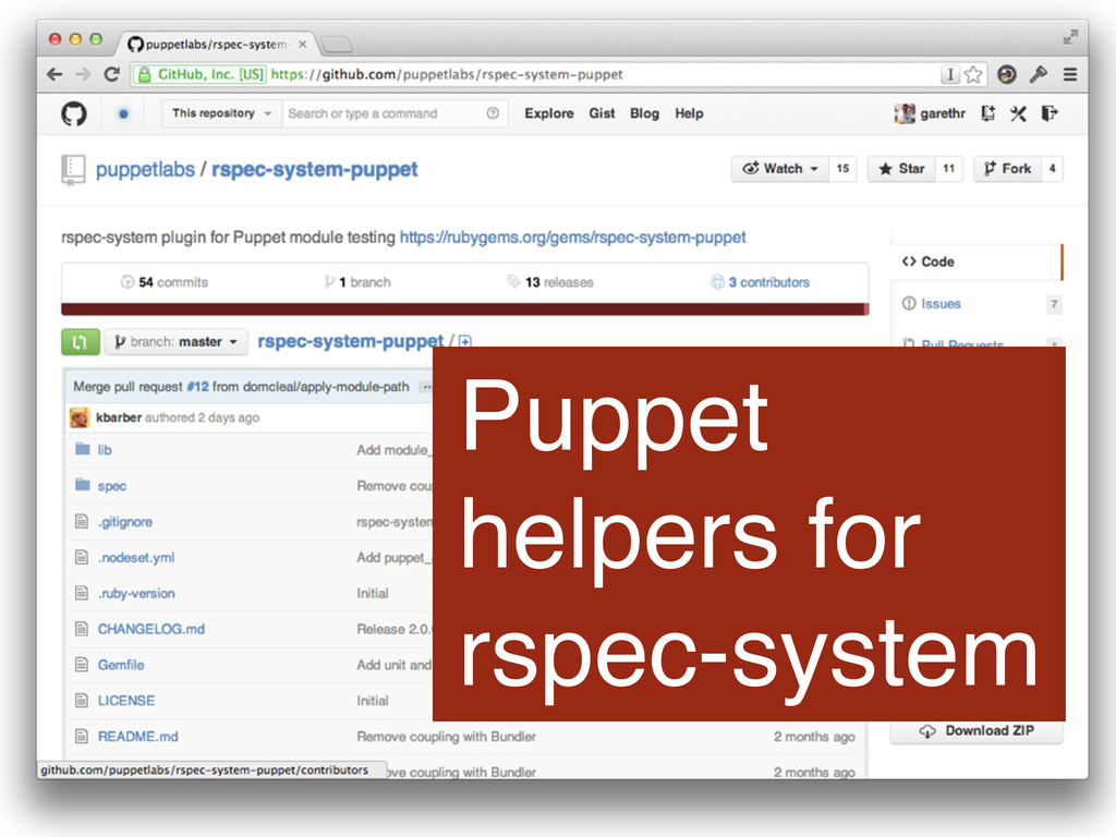 Puppet helpers for rspec-system