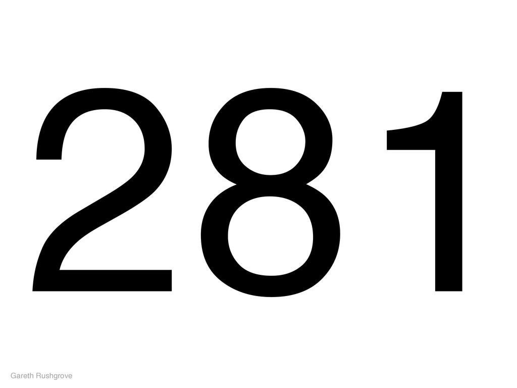 281 Gareth Rushgrove