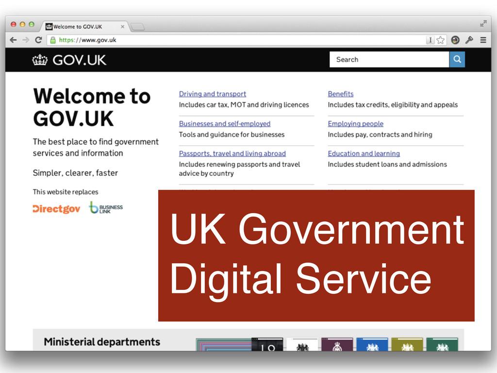 UK Government Digital Service