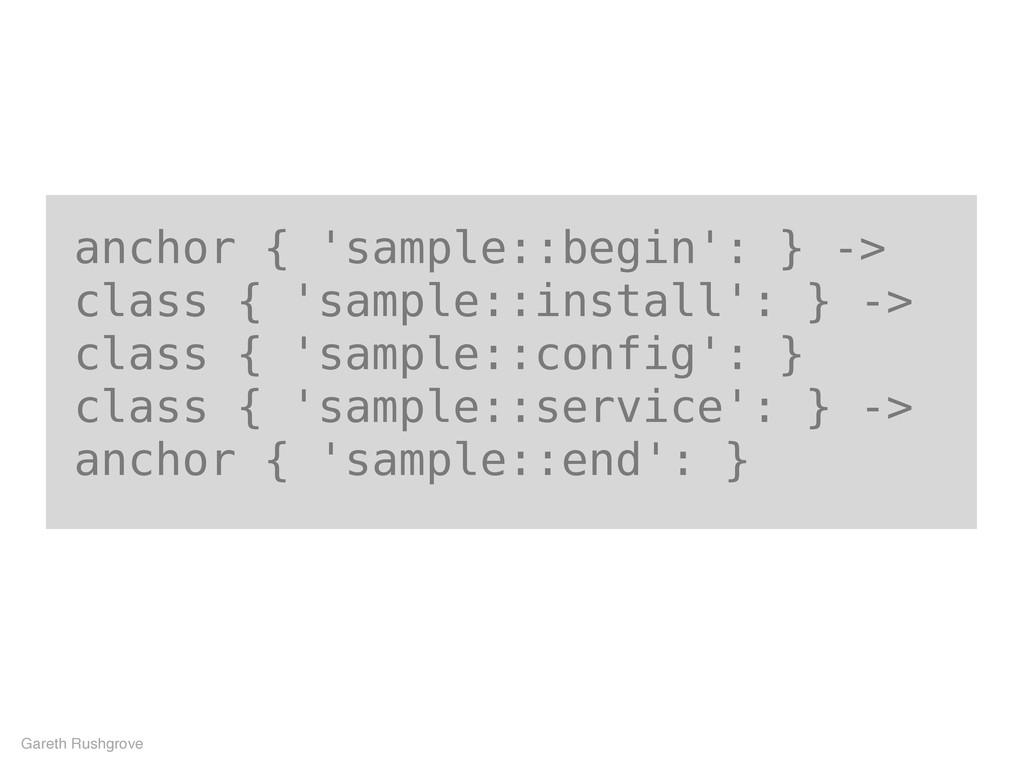 anchor { 'sample::begin': } -> class { 'sample:...
