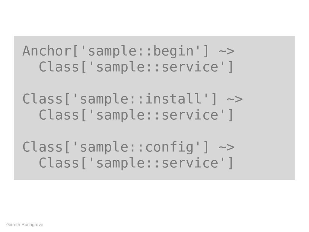 Anchor['sample::begin'] ~> Class['sample::servi...