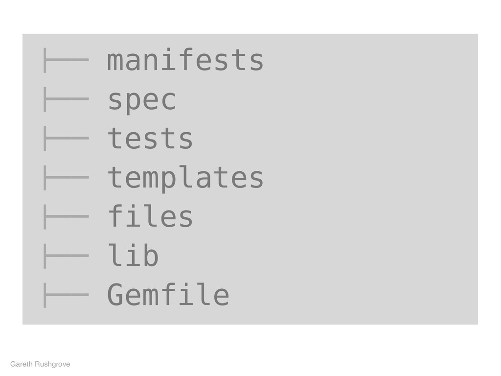 "!"""" manifests !"""" spec !"""" tests !"""" templates ..."