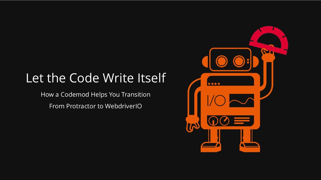 Let the Code Write Itself How a Codemod Helps Y...