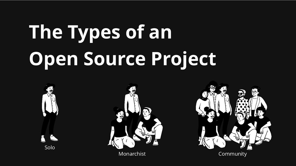 The Types of an Open Source Project Solo Monarc...