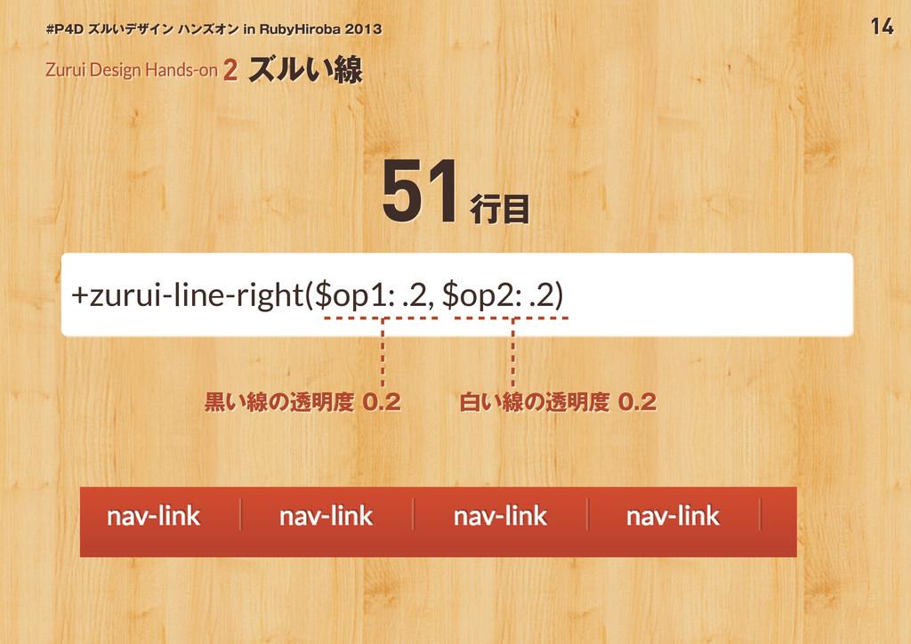 14 #P4D ズルいデザイン ハンズオン in RubyHiroba 2013 Zurui ...