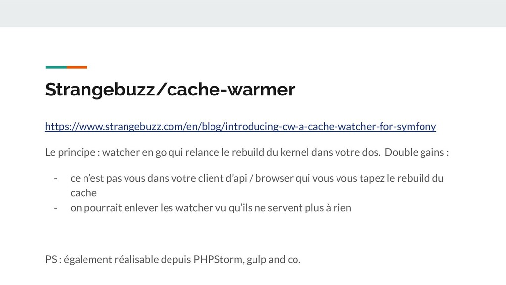 Strangebuzz/cache-warmer https://www.strangebuz...