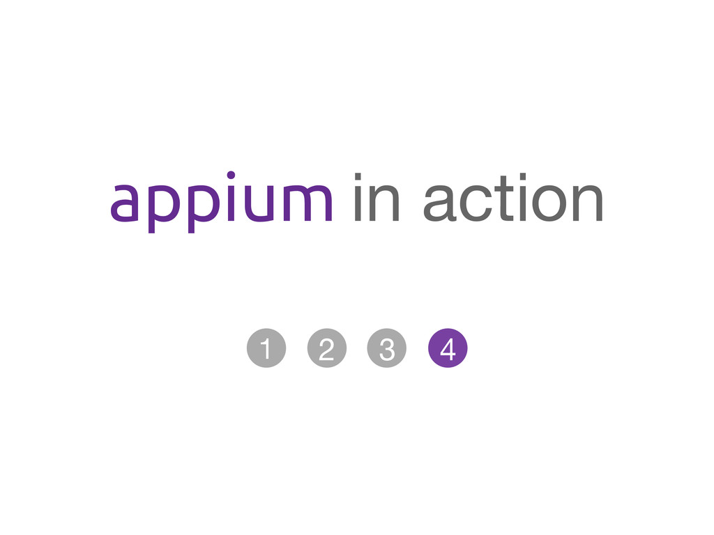 appium in action
