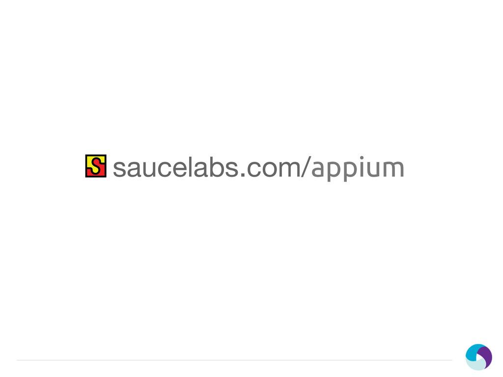 saucelabs.com/appium