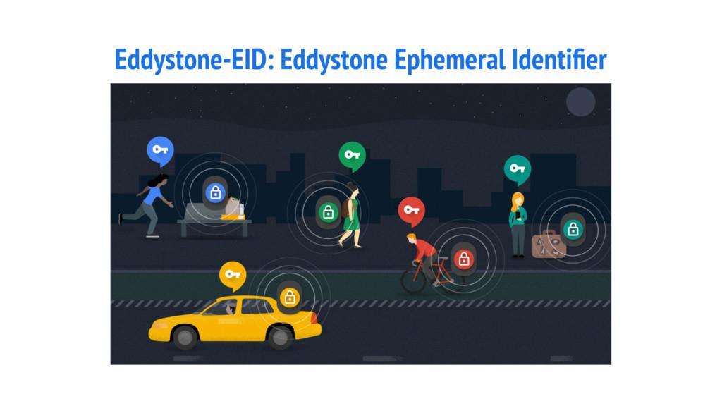 Eddystone-EID: Eddystone Ephemeral Identifier