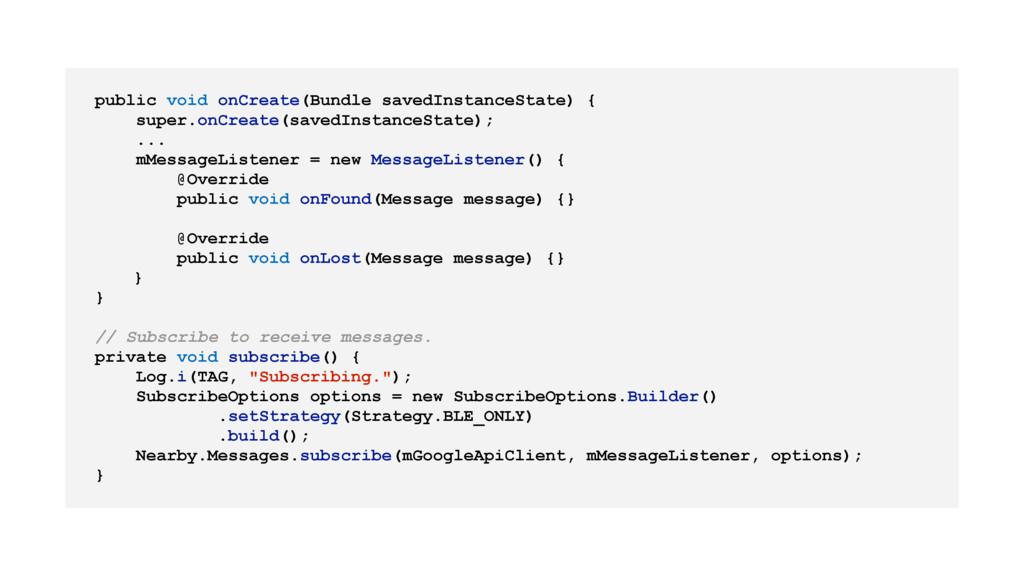 public void onCreate(Bundle savedInstanceState)...