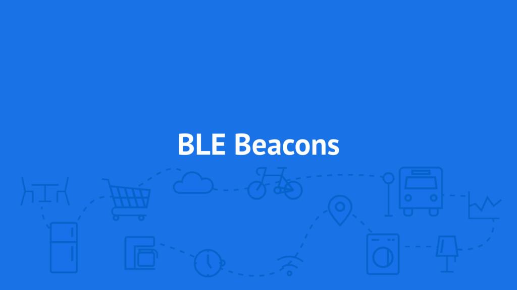BLE Beacons