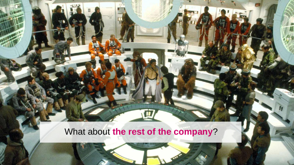 What about the rest of the company?