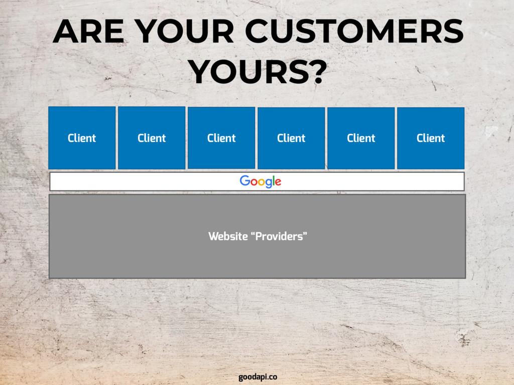 "Website ""Providers"" Client Client Client Client..."