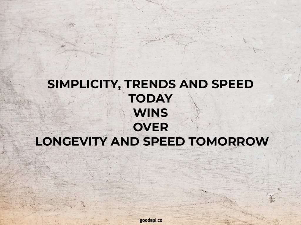 SIMPLICITY, TRENDS AND SPEED TODAY WINS OVER LO...