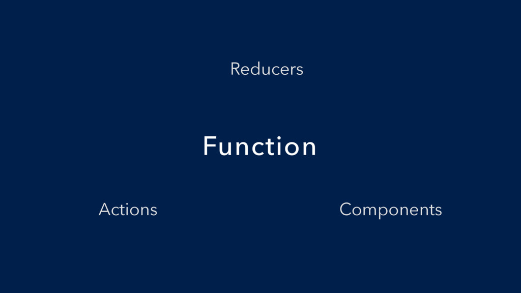Function Components Actions Reducers