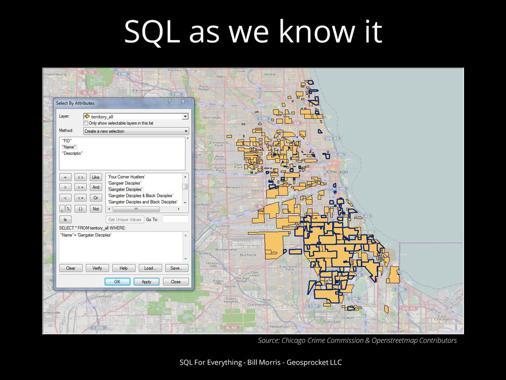 SQL as we know it SQL For Everything - Bill Mor...