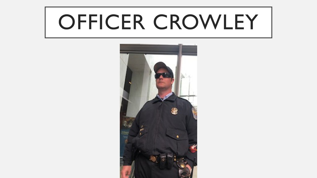 OFFICER CROWLEY