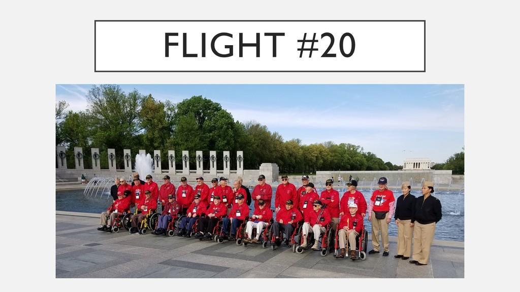 FLIGHT #20