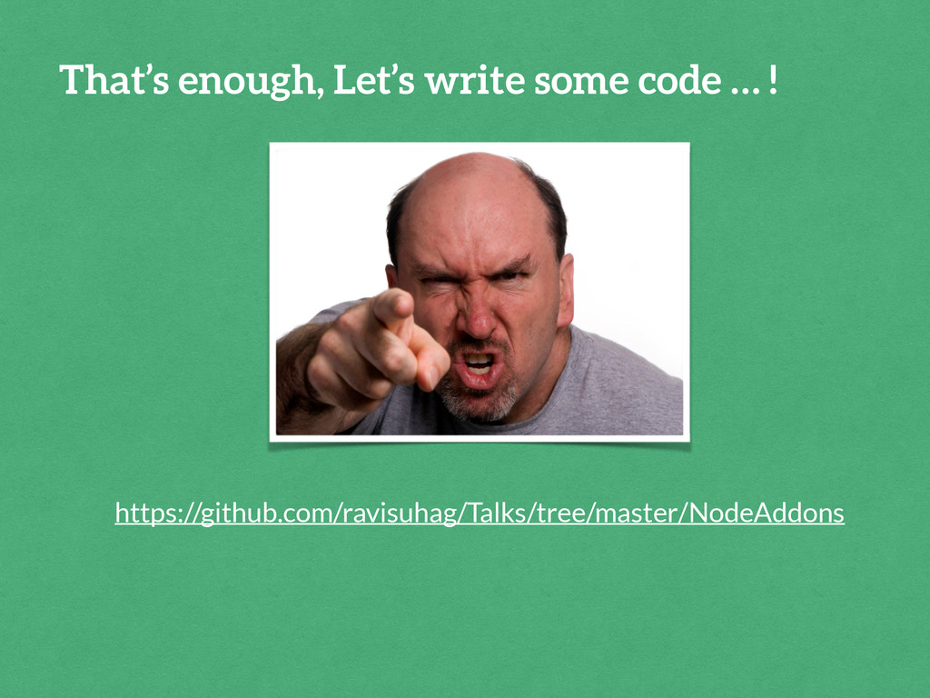 That's enough, Let's write some code … ! https:...