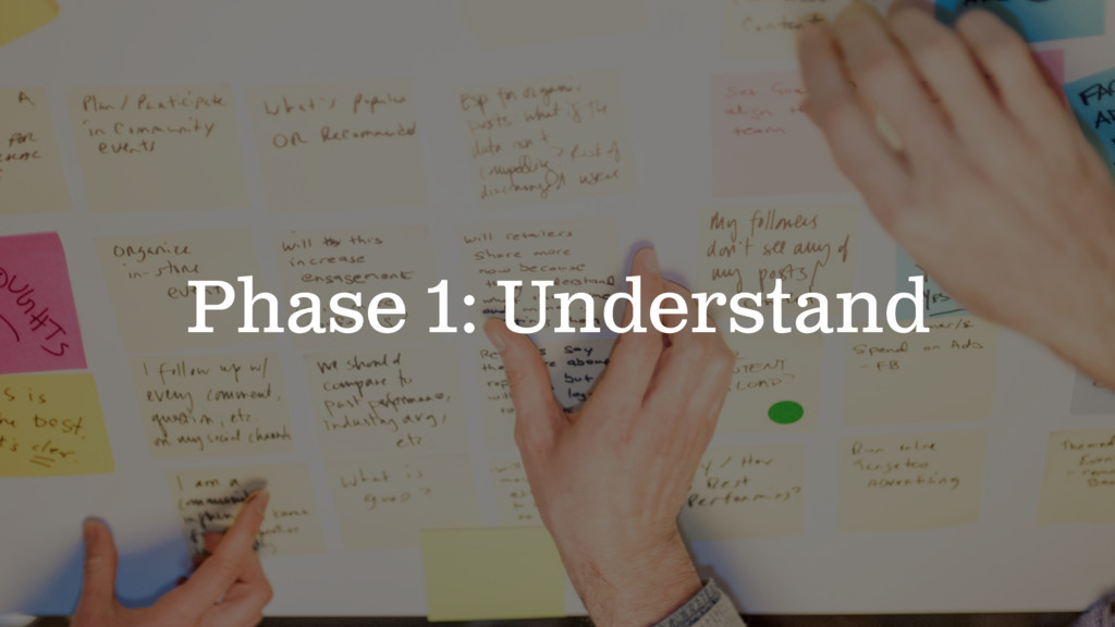 Phase 1: Understand