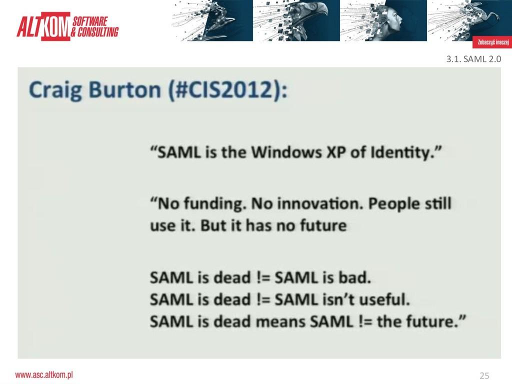 25 3.1. SAML 2.0