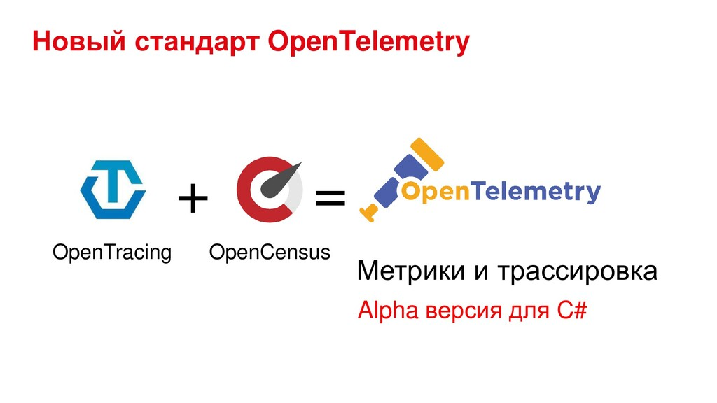 Новый стандарт OpenTelemetry + = Метрики и трас...