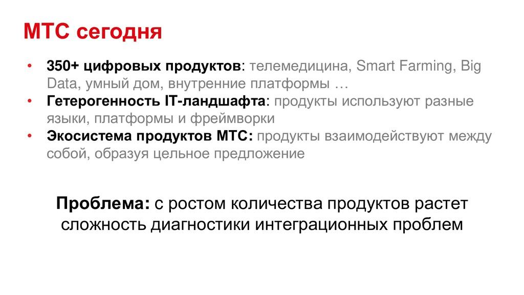 МТС сегодня • 350+ цифровых продуктов: телемеди...