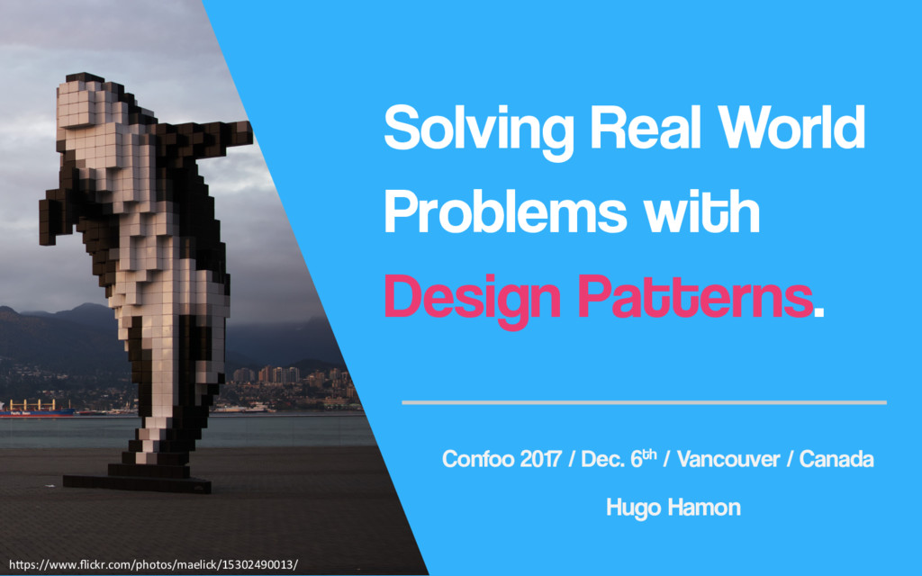 Solving Real World Problems with Design Pattern...