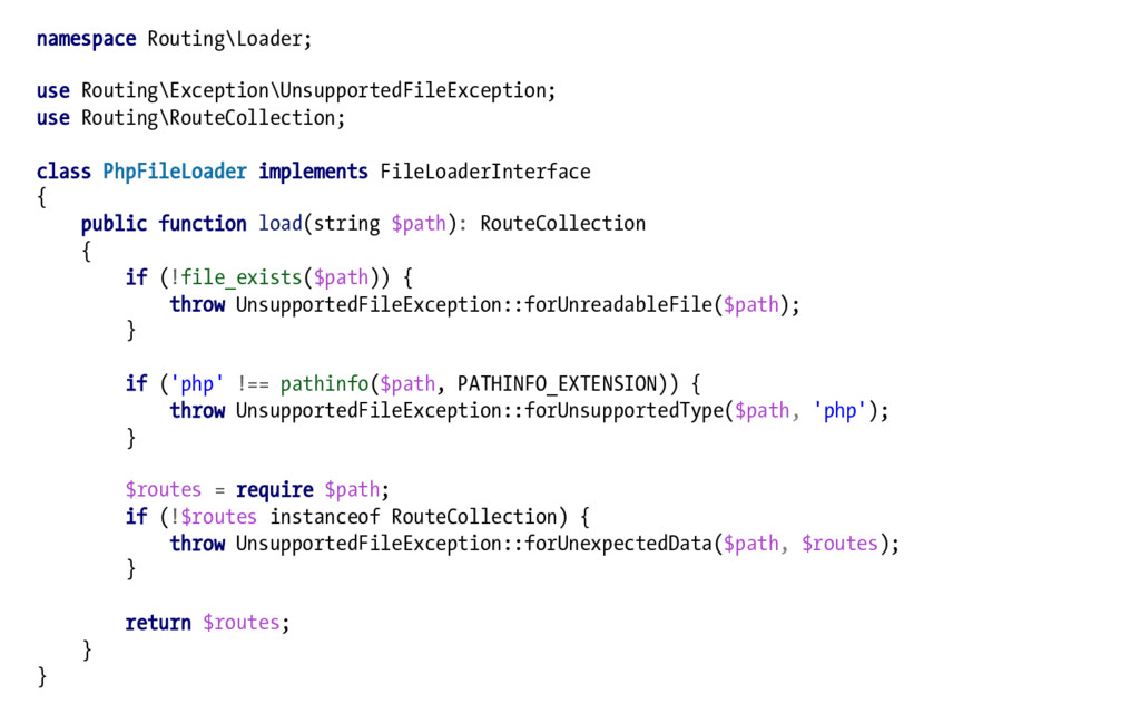 namespace Routing\Loader; use Routing\Exception...