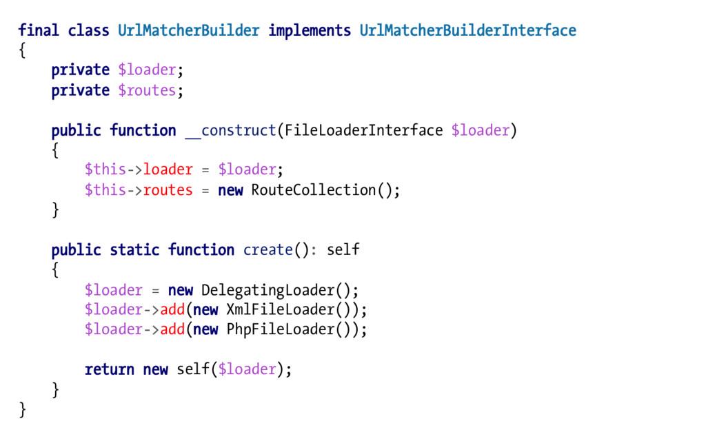 final class UrlMatcherBuilder implements UrlMat...