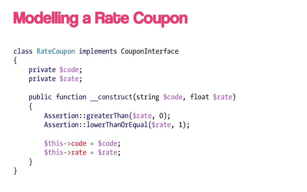 class RateCoupon implements CouponInterface { p...