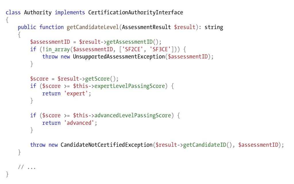 class Authority implements CertificationAuthori...