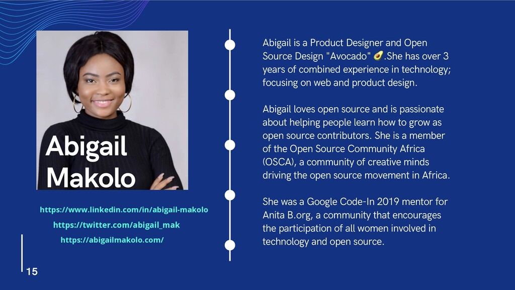 Abigail is a Product Designer and Open Source D...