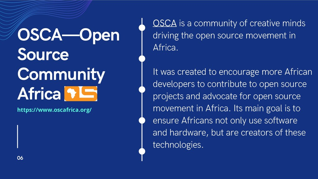OSCA is a community of creative minds driving t...