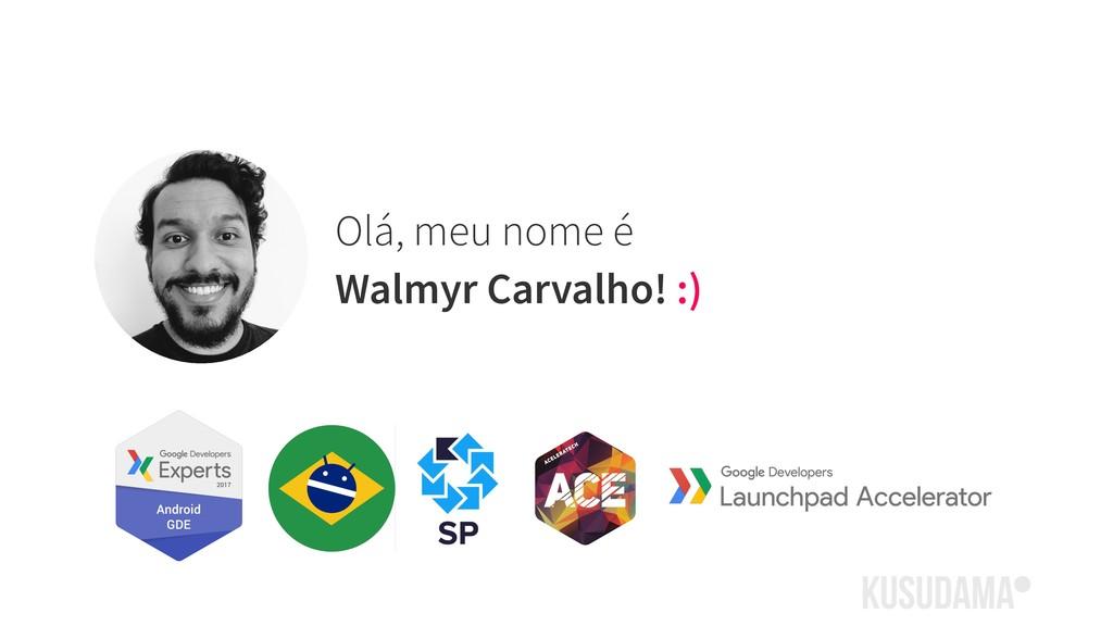 Olá, meu nome é Walmyr Carvalho! :)