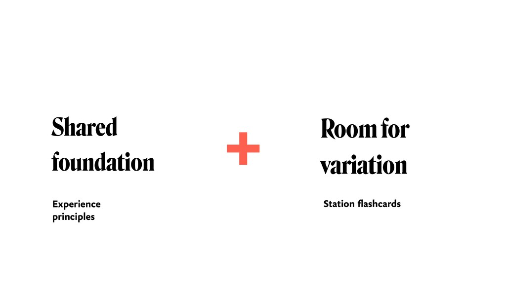 Shared foundation Room for 